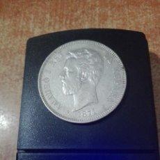 Monedas República: 5 PESETAS AMADEO 1870 PLATA 0,900'LEY. Lote 95779255
