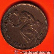 Monedas República: 50 CENTIMOS II REPUBLICA ESPAÑOLA 1937 EBC . Lote 97502263