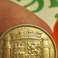 Monedas República: UNA PESETA 1933 ORIGINAL BAÑADA EN ORO. Lote 98278316