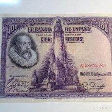 Monedas República: BILLETE 100 PESETAS 1928 EN BUEN ESTADO. Lote 98955527