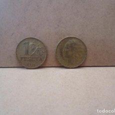 Monedas República: DOS MONEDAS DE 1 PESETA DE LA REPÚBLICA. Lote 99834027