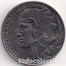Monedas República: ESPAÑA - II REPÚBLICA 5 CÉNTIMOS 1937 - HIERRO. Lote 100315727