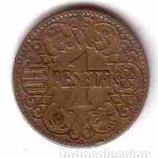 Monedas República: MONEDA 1 PESETA 1944. Lote 100425407