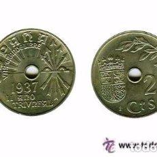 Monedas República: 1 MONEDA - ESTADO ESPAÑOL. 25 CÉNTIMOS 1937. Lote 178253207