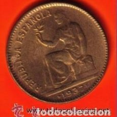 Monedas República: 50 CENTIMOS II REPUBLICA ESPAÑOLA 1937 SC- . Lote 103869659
