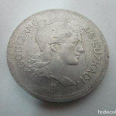 Monedas República: REPÚBLICA ESPAÑOLA - 1 PESETA - AÑO 1937 - GOBIERNO DE EUSKADI. Lote 104067587