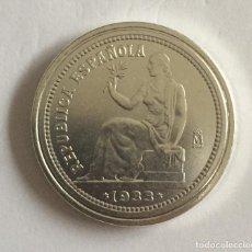 Monedas República: 1 PESETA 1933 II REPÚBLICA MADRID RÉPLICA. Lote 104449431