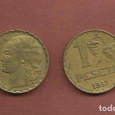 Monedas República: ESPAÑA-II REPUBLICA. PESETA 1937. Lote 109573530