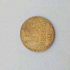 Monedas República: MONEDA DE UNA PESETA DE LA REPUBLICA. Lote 108308099