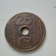 Monedas República: 25CENTIMOS 1938. Lote 109275311