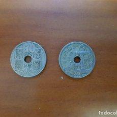 Monedas República: 50 CÉNTIMOS AÑO 1949 2 MONEDAS. Lote 110044891