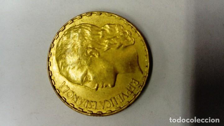 Monedas República: Moneda de 1 peseta de la República 1937 - Foto 2 - 110889347