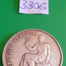 Monedas República: 1 PESETA DE LA II REPUBLICA. 1933 *34. Lote 111869631
