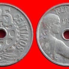 Monedas República: 25 CENTIMOS 1934 REPUBLICA ESPAÑA 7917T COMPRAS SUPERIORES 40 EUROS ENVIO GRATIS. Lote 115280259