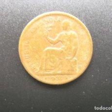 Monedas República: MONEDA DE 50 CENTIMOS, REPUBLICA ESPAÑOLA, 1937 . Lote 115288367