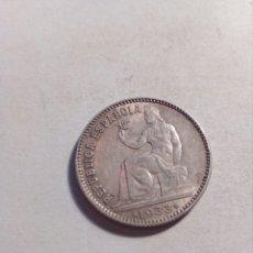 Monedas República: UNA PESETA DE PLATA REPUBLICA ESPAÑOLA AÑO 1933. Lote 115291419