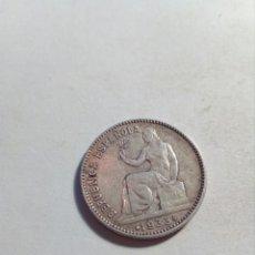 Monedas República: UNA PESETA DE PLATA REPUBLICA ESPAÑOLA AÑO 1933. Lote 115291508