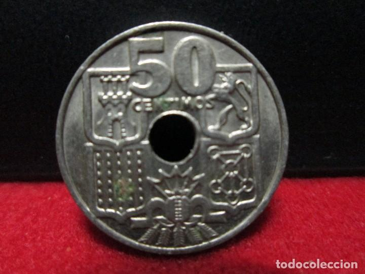 Monedas República: 50 centimos 1963 estrellas 19 65 - Foto 2 - 117756063
