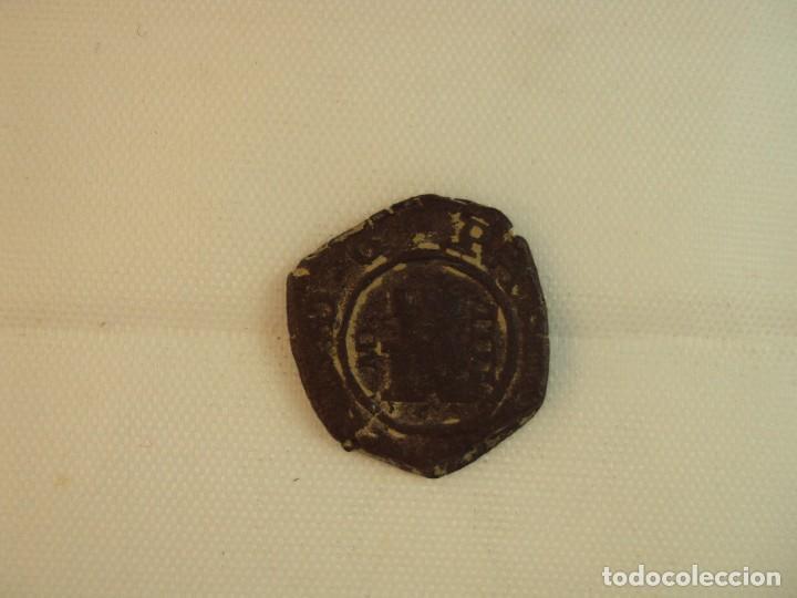 MONEDA DE FELIPE III DE 4 MARAVEDÍS ACUÑADA EN BURGOS EN 1619. (Numismática - España Modernas y Contemporáneas - República)