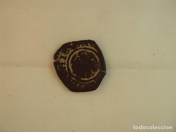 Monedas República: MONEDA DE FELIPE III DE 4 MARAVEDÍS ACUÑADA EN BURGOS EN 1619. - Foto 2 - 118832455