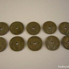 Monedas República: 10 MONEDAS 25 CÉNTIMOS. 1934. MADRID.. Lote 121934967