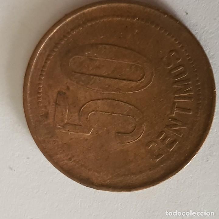 Monedas República: 50 centimos 1937 - Foto 2 - 122173515