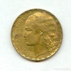Monete Repubblica: BONITA MONEDA DE 1 PESETA AÑO 1937 DE LA REPUBLICA ESPAÑOLA. MUY BUENA. NUM 1. Lote 225371510
