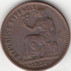 Monedas República: II REPUBLICA: 50 CENTIMOS 1937 * 3-4. Lote 129727695