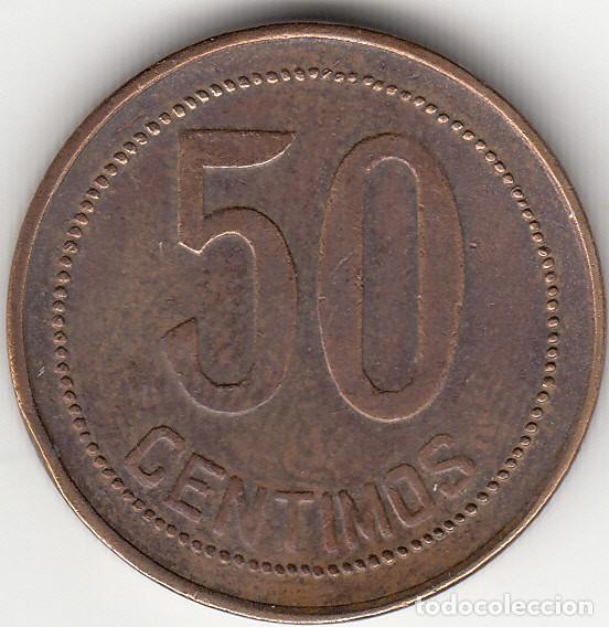 Monedas República: II REPUBLICA: 50 CENTIMOS 1937 * 3-4 - Foto 2 - 129727695