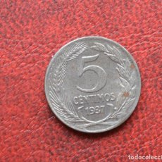 Monedas República: REPUBLICA ESPAÑOLA - 5 CÉNTIMOS - 1937 - HIERRO - EBC. Lote 130687664