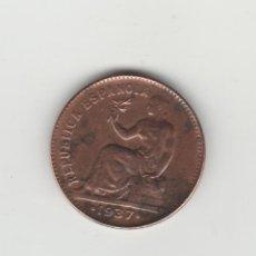 Monedas República: 50 CENTIMOS- 1937 * 3-6-EBC. Lote 132165774