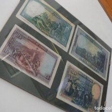 lote de billetes enmarcados republica pesetas