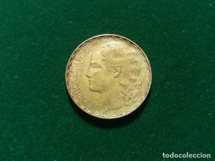 MONEDA DE 1 PESETA DE LA 2° REPÚBLICA DE 1937. (Numismática - España Modernas y Contemporáneas - República)