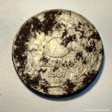 Monedas República: 5 CÉNTIMOS. 1937. HIERRO. II REPÚBLICA. ESPAÑA.. Lote 135413118