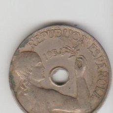 Monedas República: MONEDA ... ESPAÑA .. 25 CENTIMOS 1934 .. REPUBLICA. Lote 135589930