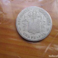Monete Repubblica: ESPAÑA - 1 PESETA 1885 PLATA ALGO DESGASTADA. Lote 135594474