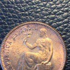Monedas República: 50 CÉNTIMOS SEGUNDA REPÚBLICA EN LUJO EBC++ ESTRELLAS 3 Y 4. Lote 136368113