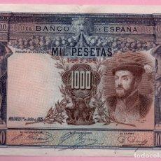 Monedas República: BILLETE ESPAÑA - 1000 PESETAS 1925. Lote 137149574