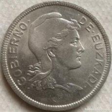 Monedas República: MONEDA 2 PESETAS. 1937. EUZKADI. PAÍS VASCO. REPÚBLICA. GUERRA CIVIL ESPAÑOLA. Lote 137882926