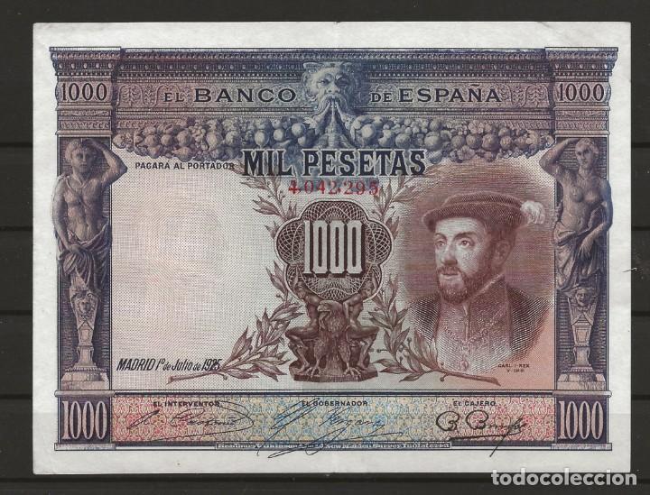 R60/ ESPAÑA, BILLETE DE 1000 PESETAS, ALFONSO XIII, CIRCULADO (Numismática - España Modernas y Contemporáneas - República)