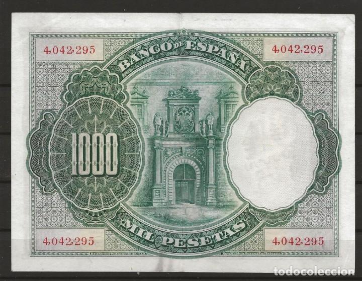 Monedas República: R60/ ESPAÑA, BILLETE DE 1000 PESETAS, ALFONSO XIII, CIRCULADO - Foto 2 - 138610274