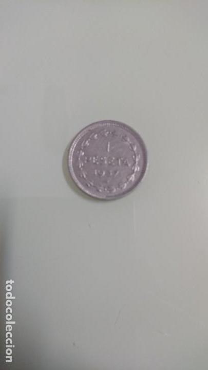 MONEDA UNA PESETA 1937 (Numismática - España Modernas y Contemporáneas - República)