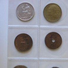 Monedas República: LOTE 6 MONEDAS IIª REPÚBLICA ESPAÑOLA - MBC+/EBC - (VER FECHAS EN LA DESCRIPCIÓN). Lote 139454278