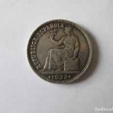Monedas República: REPUBLICA ESPAÑOLA * 1 PESETA 1933*34 * PLATA. Lote 141532926