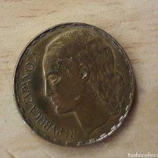 Monedas República: PRECIOSA MONEDA DE 1 PESETA DE 1937 REPÚBLICA ESPAÑOLA S/C.. Lote 141768146