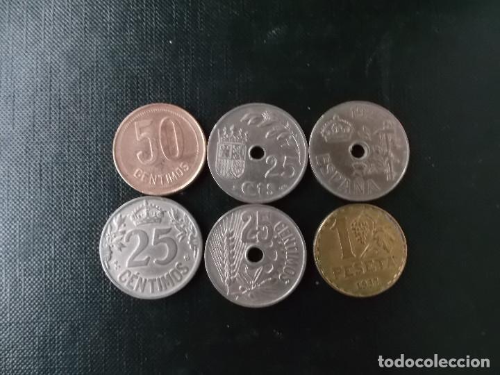 Monedas República: coleccion monedas de la primera y segunda republica de España 1925 y 1937 - Foto 2 - 171637652