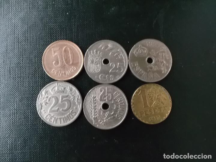 Monedas República: coleccion monedas de la primera y segunda republica de España 1925 y 1937 - Foto 4 - 171637652