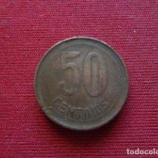 Monedas República: 50 CENTIMOS. 1937. GUERRA CIVIL. Lote 143019886