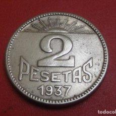 Monedas República: 2 PESETAS 1937 CONSEJO DE ASTURIAS Y LEON . Lote 143250194