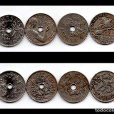 Monedas República: ESPAÑA, 25 CENT 1925 (MADRID) 25 CENT 1927 (MADRID) 25 CENT 1934 (MADRID) 25 CENT 1937 (VIENA). Lote 146138458